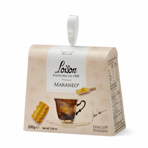 Maraneo biscuits - fine butter cookies in a gift box Loison