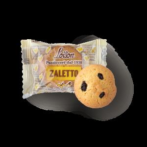 Zaletti biscuits farine de maïs et raisins en sachet individuel