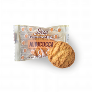 Apricot Biscuits individually wrapped - Loison