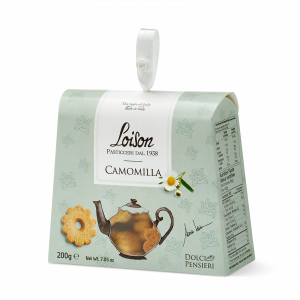 Biscuits chamomille coffret gourmand 200 gr