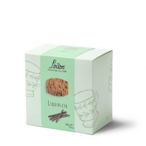 Liquirizia in astuccio Biscotteria Astucci