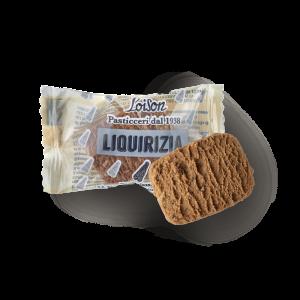 Biscuit liquorice en sachet individuel