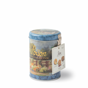 Butter Biscuits in a tin 120g - 3 flavours: chamomile, cherries, liquorice Loison