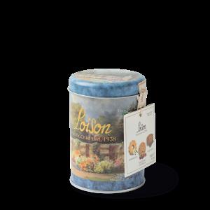 Biscuits artisanaux au beurre en boîte metal 120 gr - camomille, griotte et liquorice