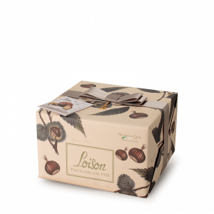 Panettone with Marron Glacé cream - Fruit and Flowers Loison