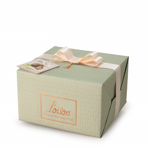Panettone with a blend of late harvest wines - Genesi Loison