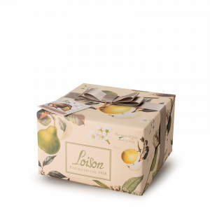 Pear and spices Panettone - Fruit and Flowers Loison