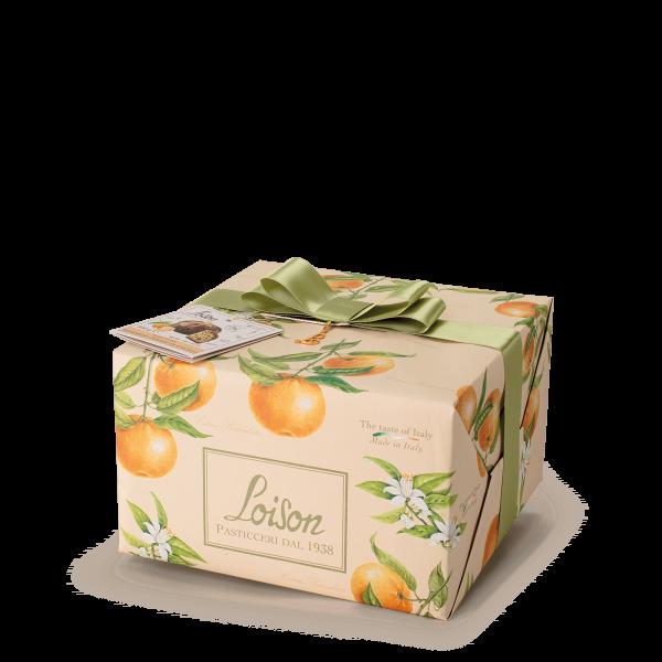 Panettone Mandarino Frutta e Fiori