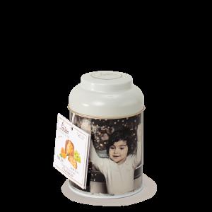 Panettone classique mignon 100 gr en boîte - Loison