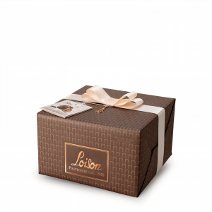 Panettone with Chocolate cream and chips - Genesi Loison