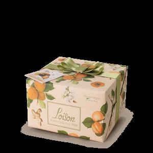 Panettone Albicocca e Zenzero Frutta e Fiori Loison