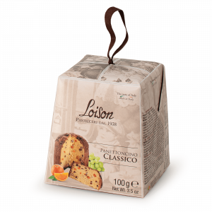 Traditional Mini Panettone 100 gr Loison