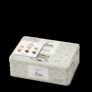 Biscuits artisanaux au beurre en boîte metal 280 gr - 6 saveurs traditionnelles