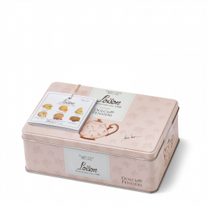 Biscotti al burro in latta 120 grammi - monodose da tè