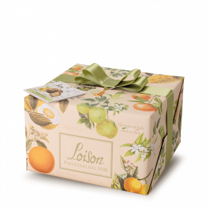5 citrus fruits Panettone - Fruit and Flowers Loison