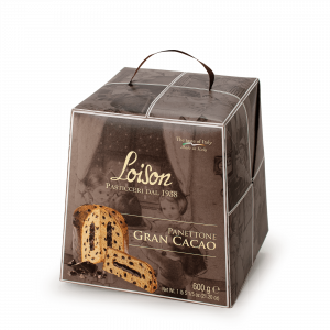 Chocolate Panettone Gran Cacao Loison