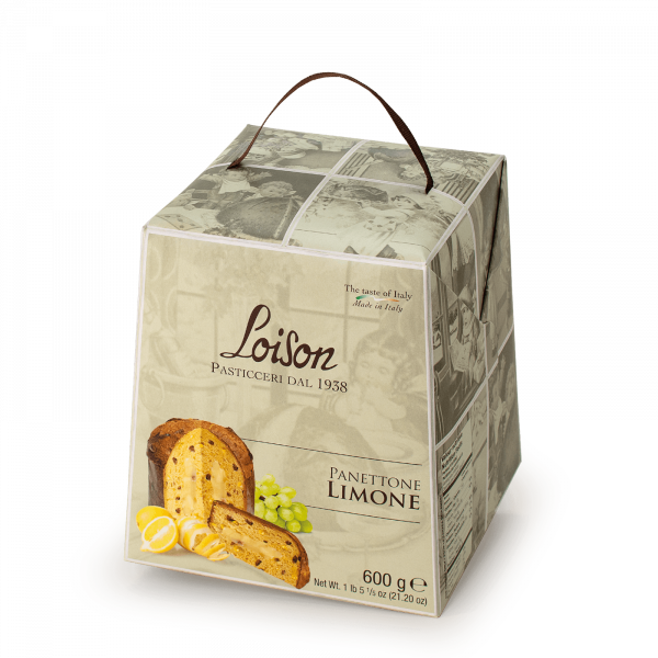 Panettone Limone Astucci Loison