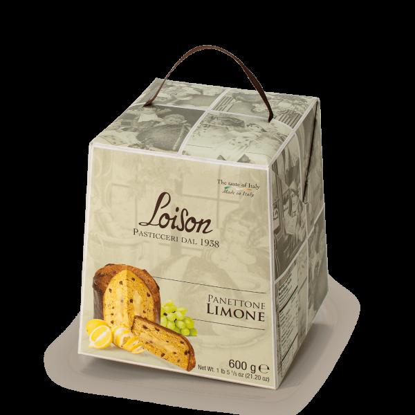 Panettone Limone Astucci Loison