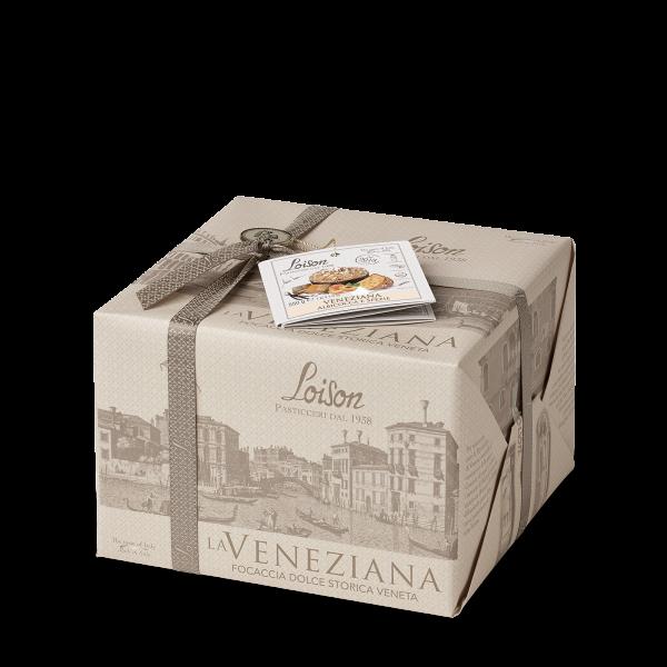Veneziana gâteau brioché Abricots et Epices