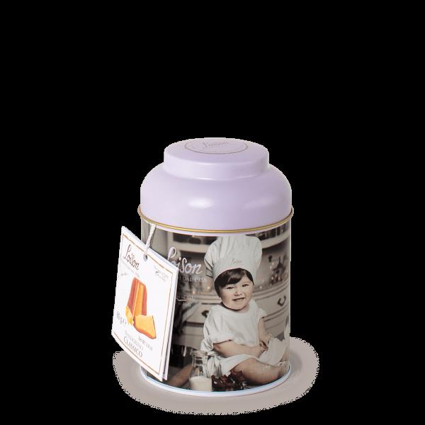 Mini Pandoro in a tin 100 gr Mignon Loison