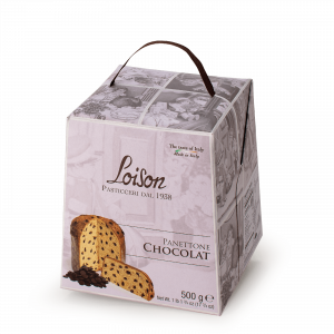 Panettone Chocolat Astucci Loison
