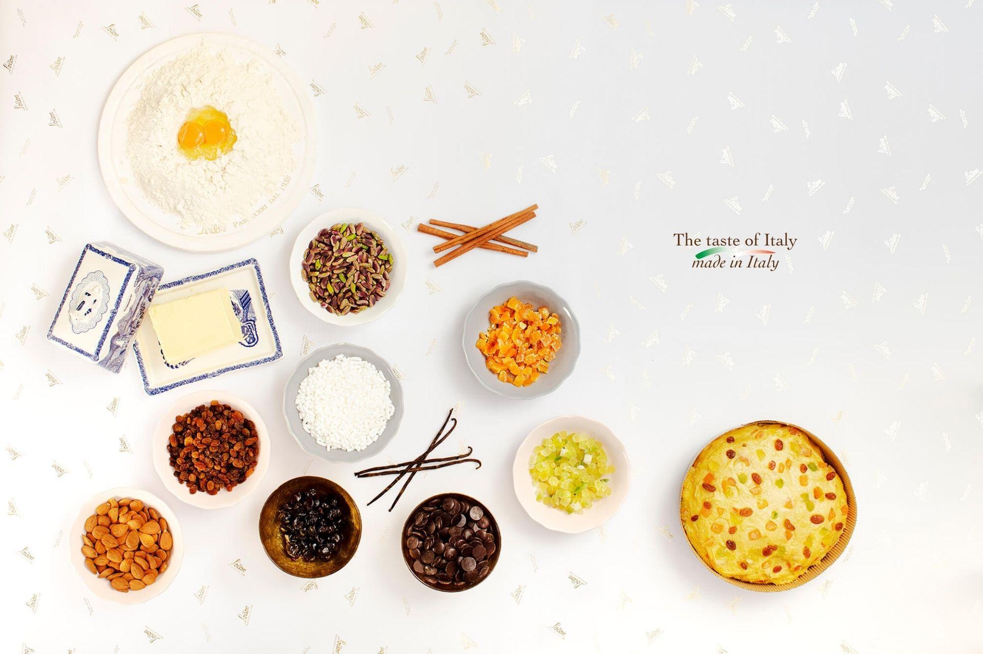 Panettoni artigianali ingredienti d'eccellenza